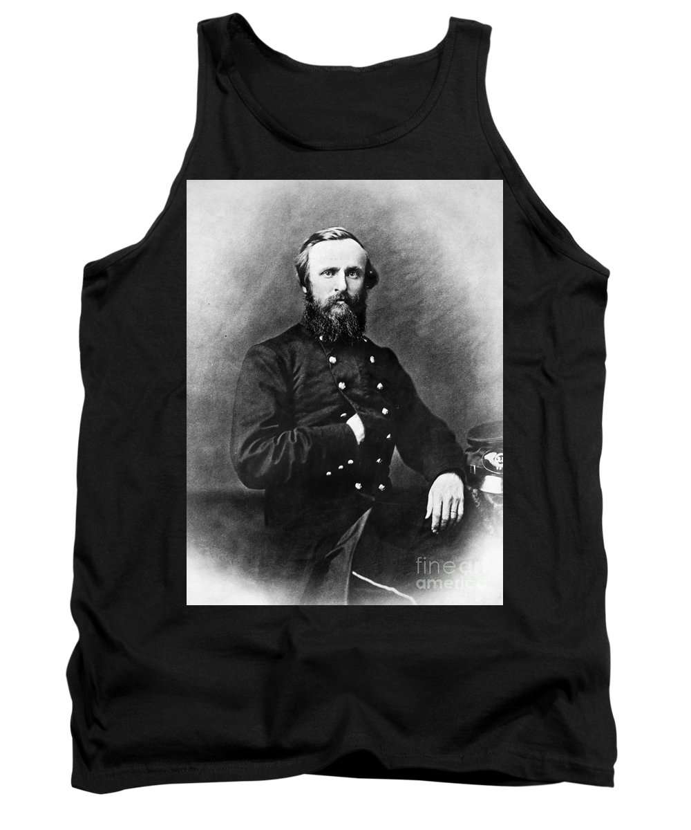 19th Century Tank Top featuring the photograph Rutherford B. Hayes by Granger