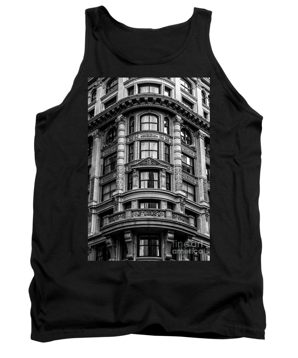 Symmetry Tank Top featuring the photograph 141 Fifth Avenue, Chelsea New York by Edi Chen