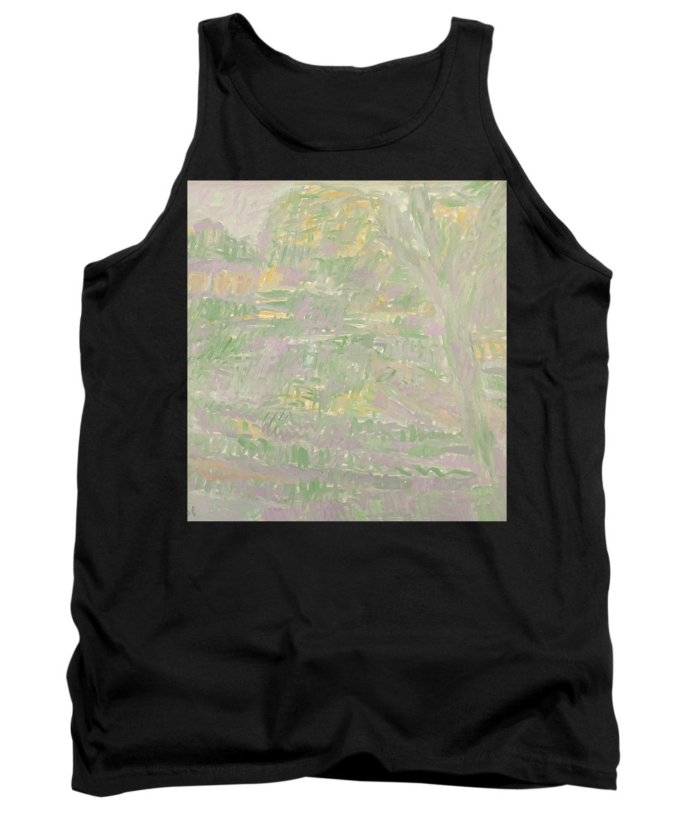 River Tank Top featuring the painting River by Robert Nizamov