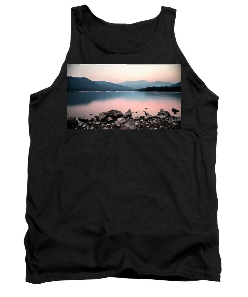 D Tank Top featuring the digital art Nature Pictures by Usa Map