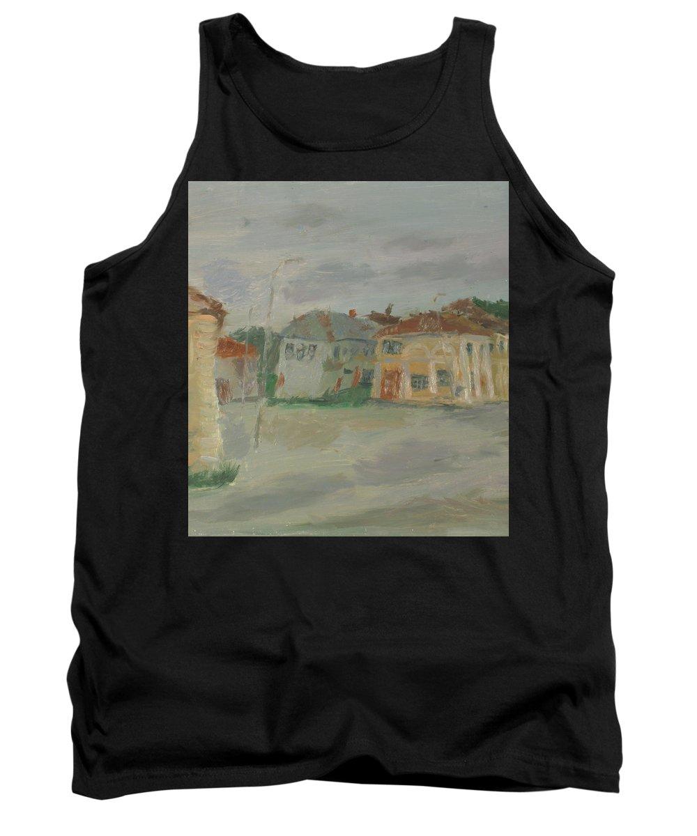 Street Tank Top featuring the painting Rostov by Robert Nizamov