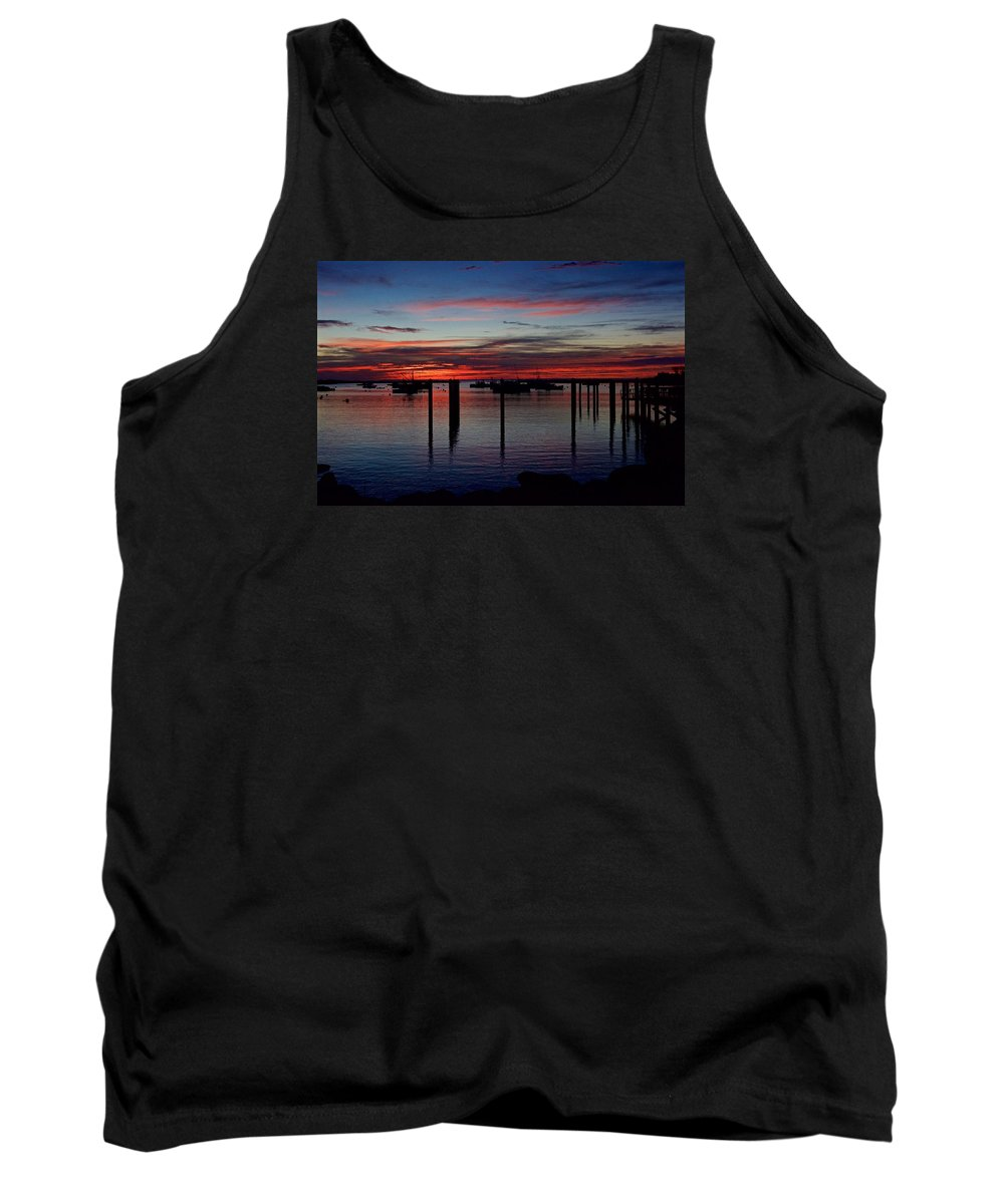 Landscape Tank Top featuring the photograph Sunrise by Christine Russell