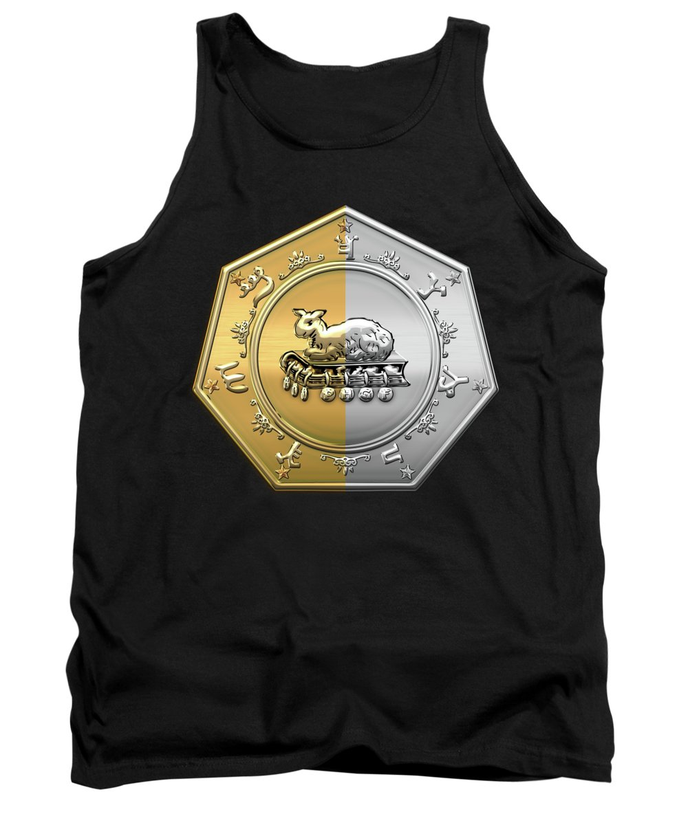 'ancient Brotherhoods' Collection By Serge Averbukh Tank Top featuring the digital art 17th Degree Mason - Knight Of The East And West Masonic Jewel by Serge Averbukh