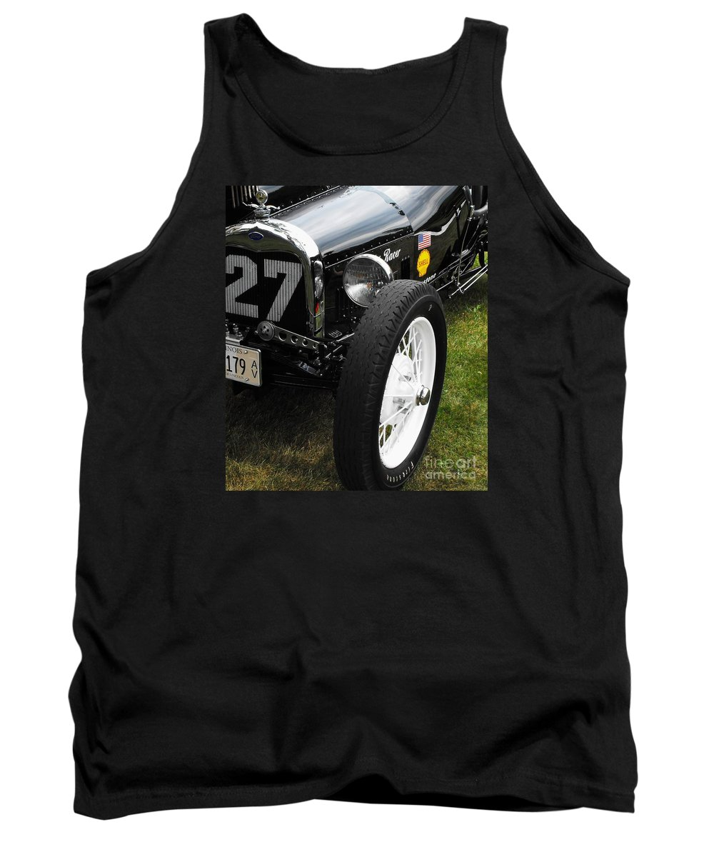 Ford Tank Top featuring the photograph 1920-1930 Ford Racer by Neil Zimmerman