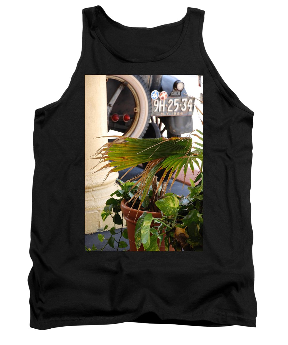 Ford Tank Top featuring the photograph 1926 Model T And Plants by Rob Hans