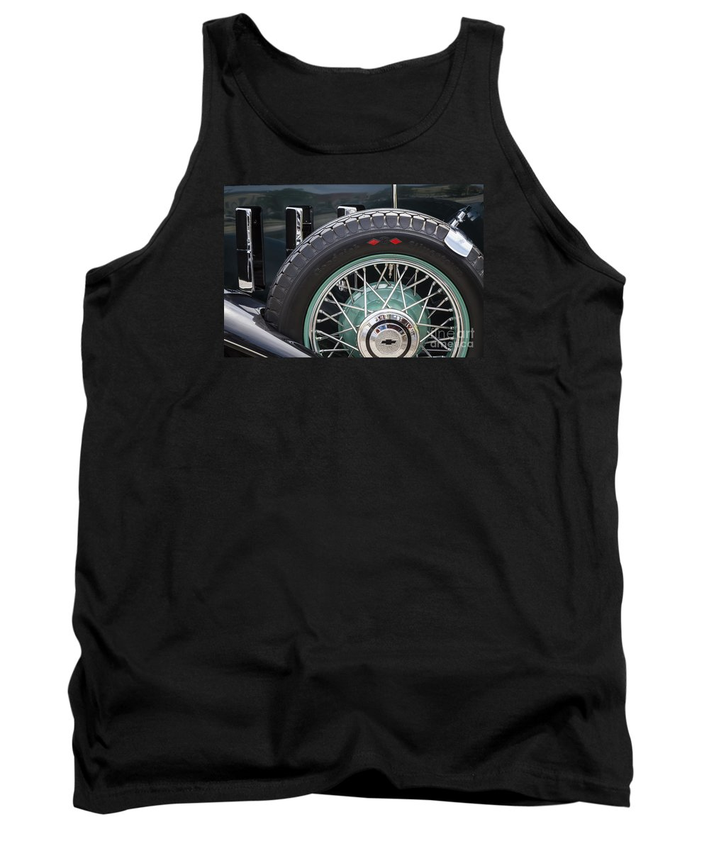 1932 Chevrolet Tank Top featuring the photograph 1932 Chevrolet by Dennis Hedberg