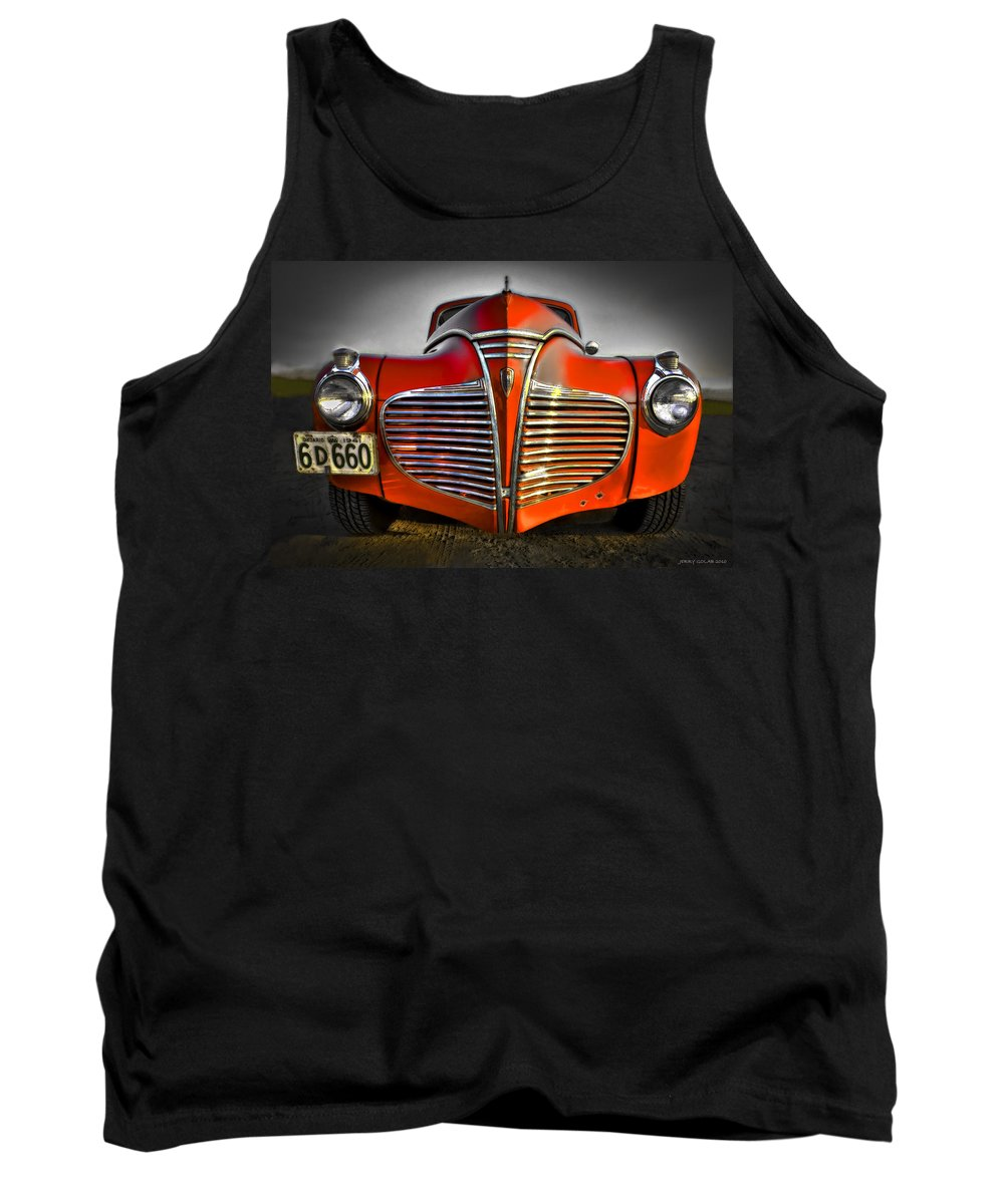 Transportation Tank Top featuring the photograph 1941 by Jerry Golab