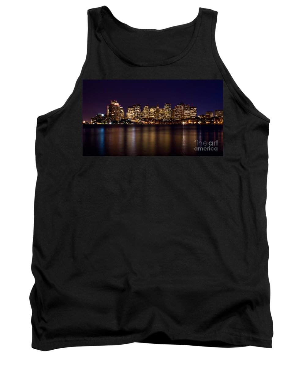 Boston Tank Top featuring the photograph Boston Massachusetts by Anthony Totah