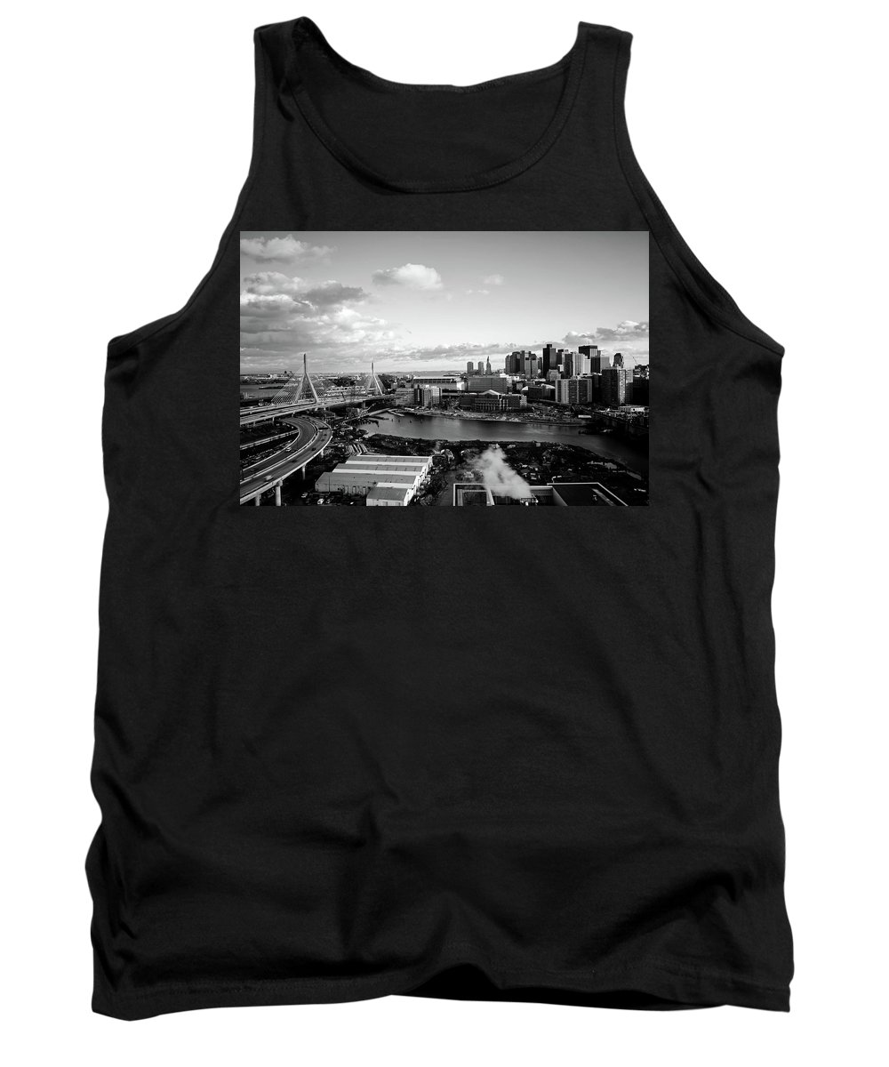 Boston Tank Top featuring the photograph Boston Sunset by Mountain Dreams