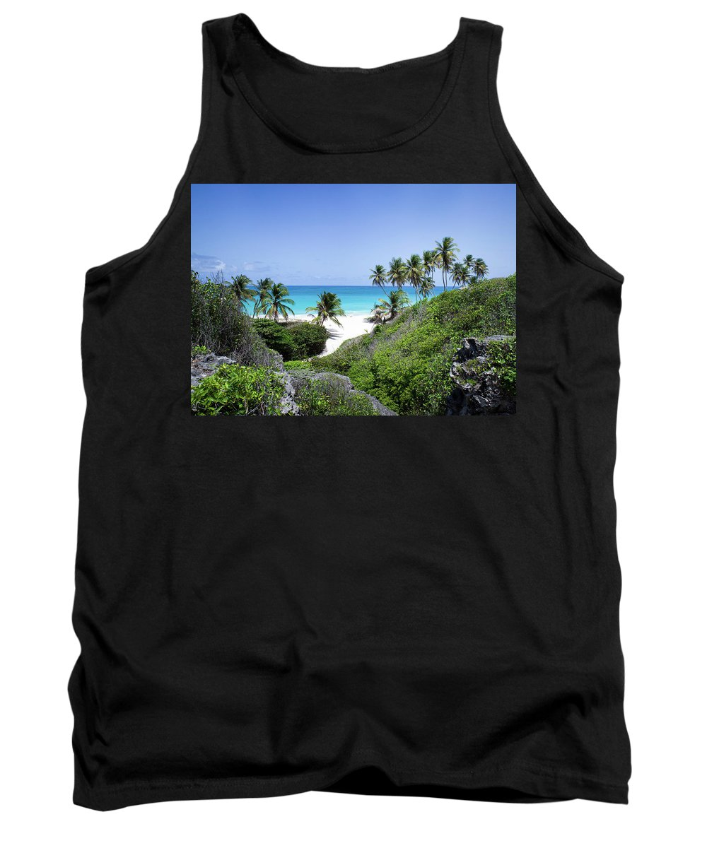 Barbados Tank Top featuring the photograph Bottom Bay by Ferry Zievinger