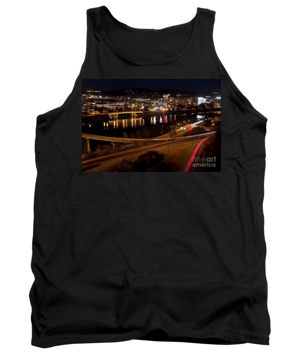 Charleston Tank Top featuring the photograph Charleston - West Virginia by Anthony Totah