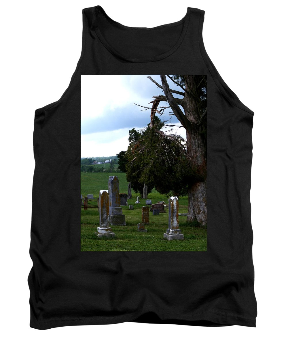 Landscape Tank Top featuring the photograph Heroes Of Olmsted by Rachel Christine Nowicki
