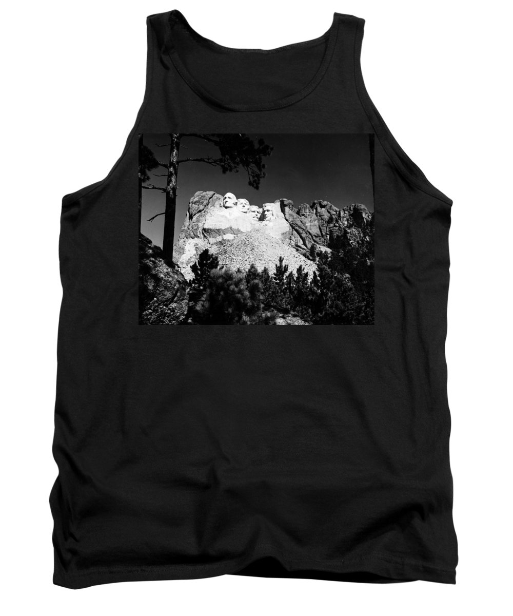 1930s Tank Top featuring the photograph Mount Rushmore by Granger