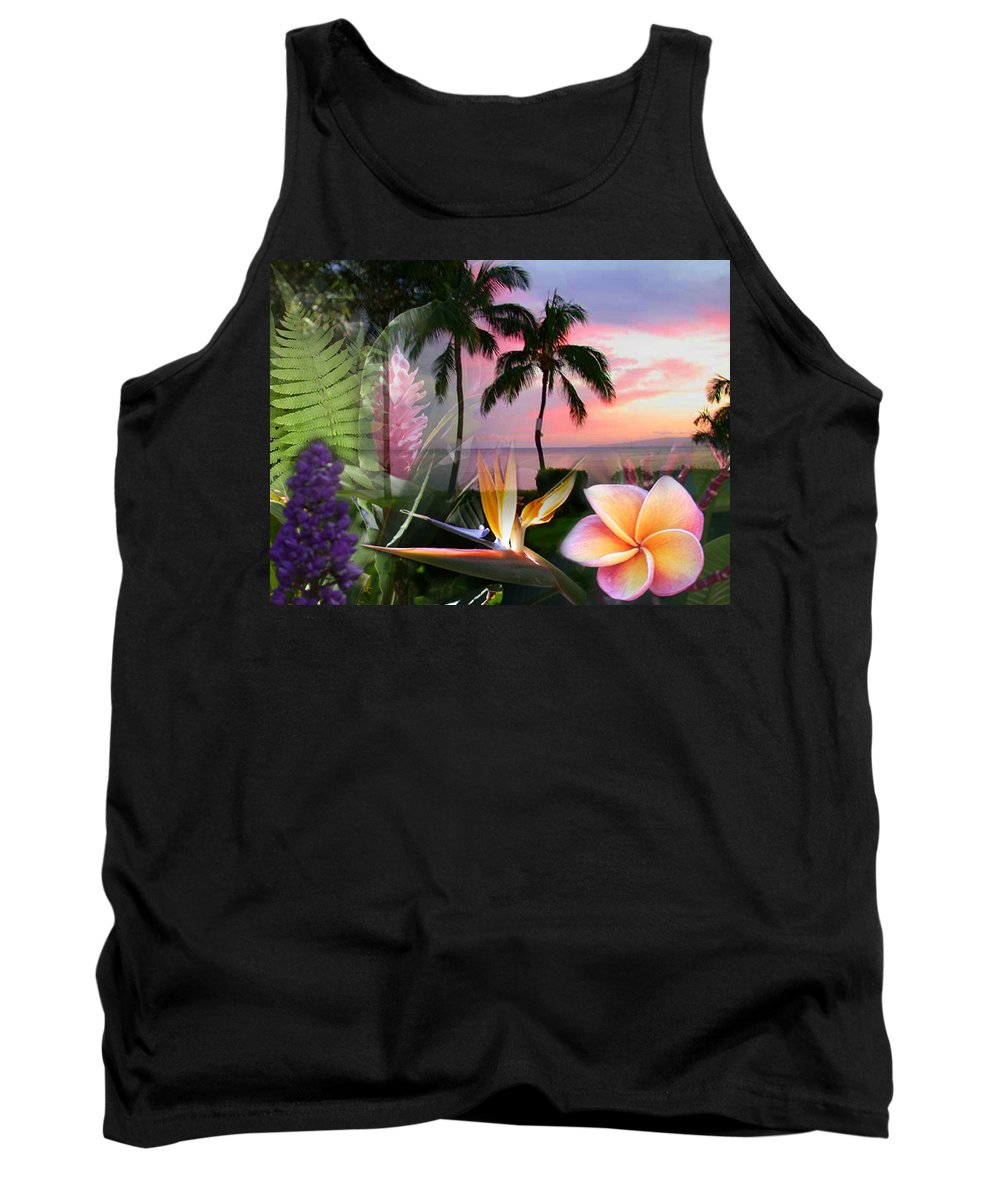 Bird Of Paradise Tank Top featuring the photograph Natural Beauty by Angie Hamlin