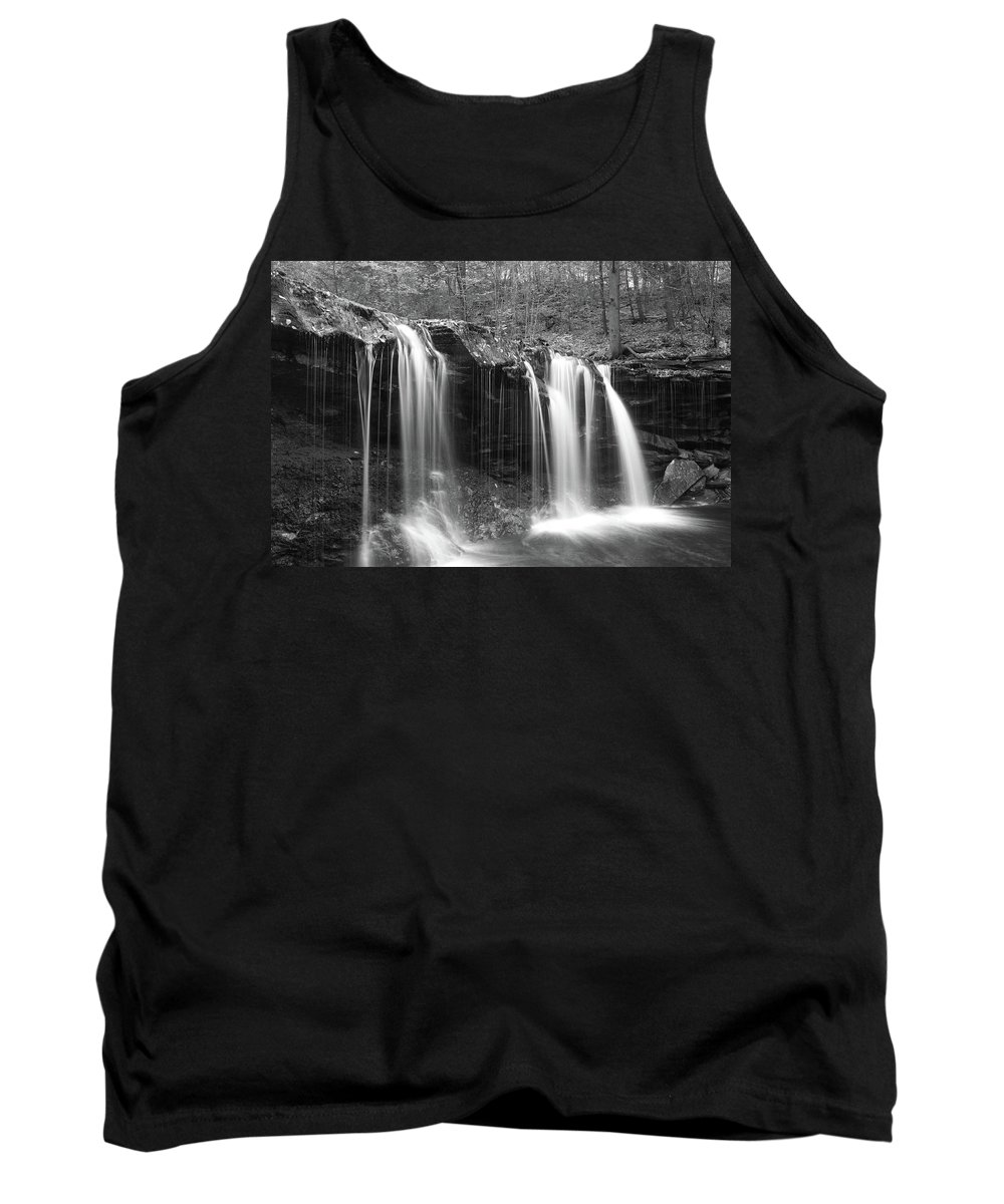 Phil Levee Tank Top featuring the photograph Oneida Falls by Philip LeVee
