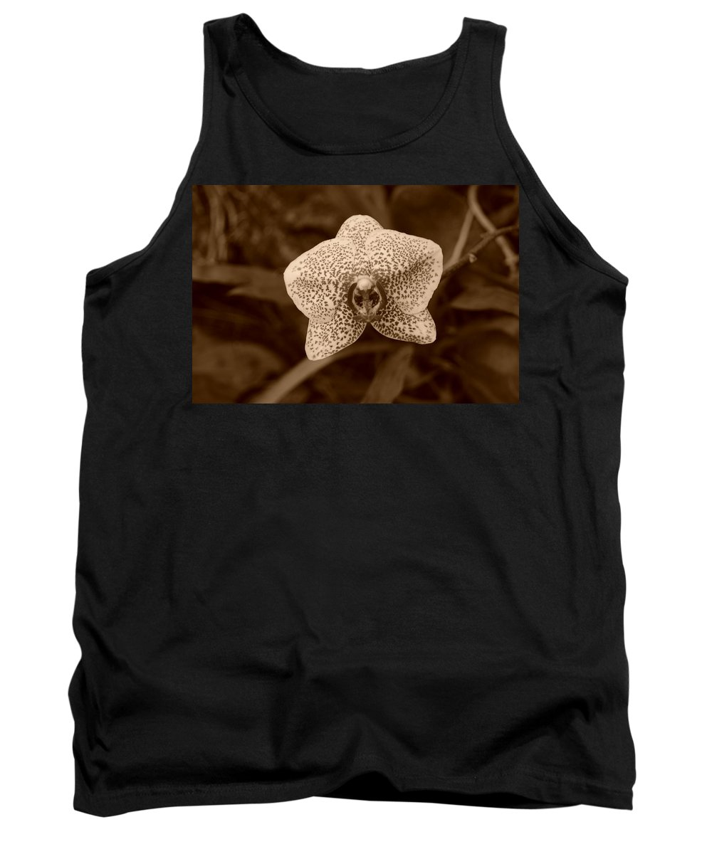 Macro Tank Top featuring the photograph Orchid by Rob Hans