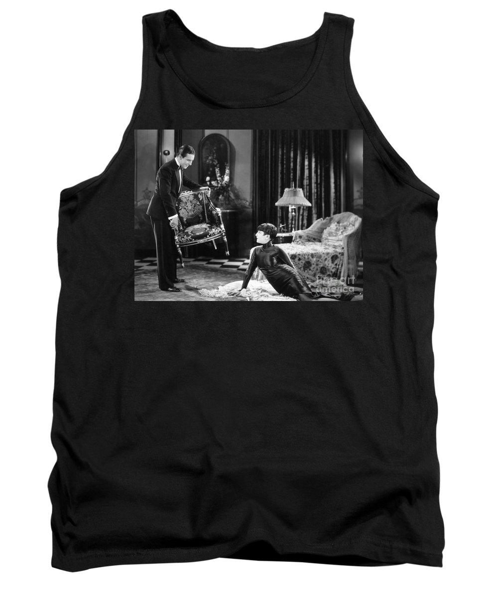 -ecq- Tank Top featuring the photograph Silent Still: Man & Woman by Granger