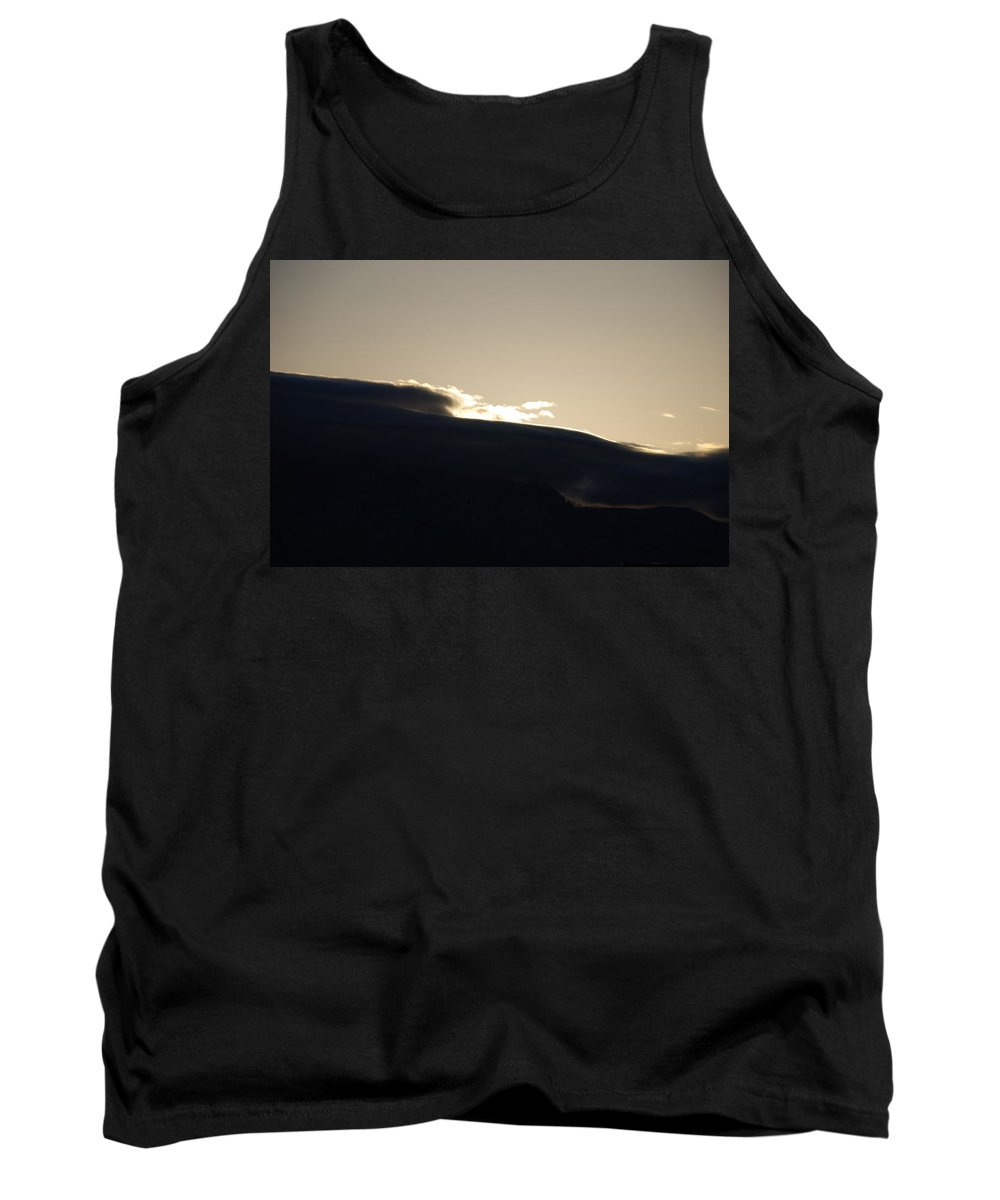 Sunrise Tank Top featuring the photograph Sunrise Over The Sandias by Rob Hans
