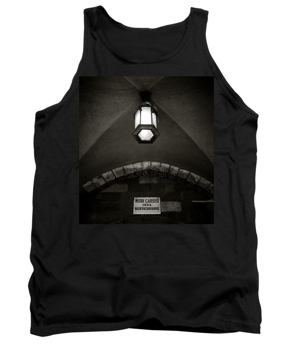 Istanbul Tank Top featuring the photograph The Spice Bazaar by Shaun Higson
