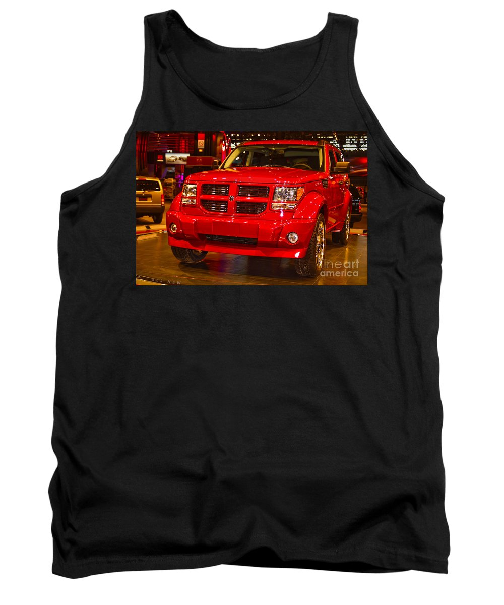 Automotive Tank Top featuring the photograph 2007 Dodge Nitro by Alan Look