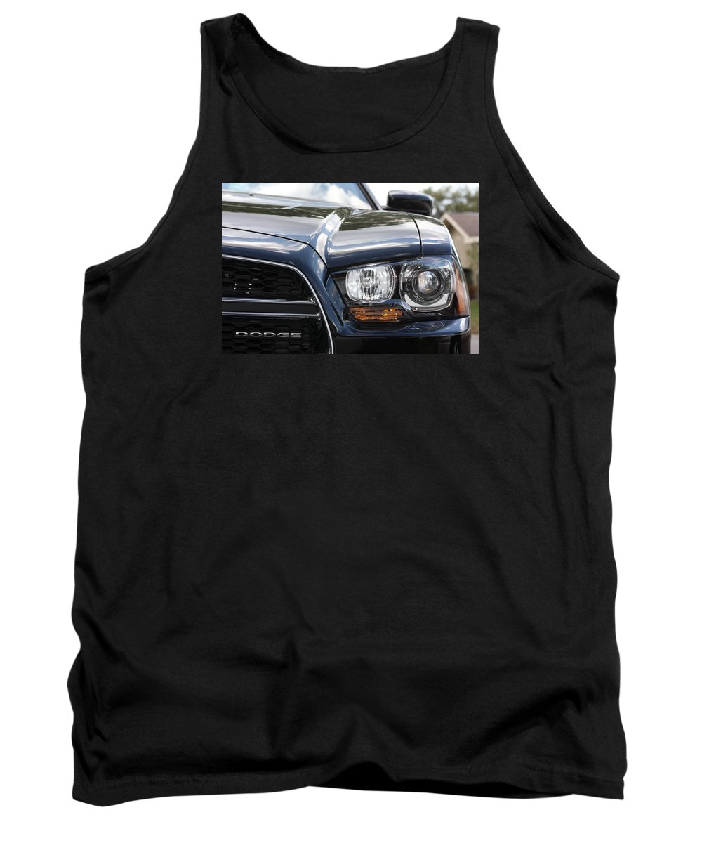 Dodge Charger Tank Top featuring the photograph 2012 Dodge Charger by Shari Bailey