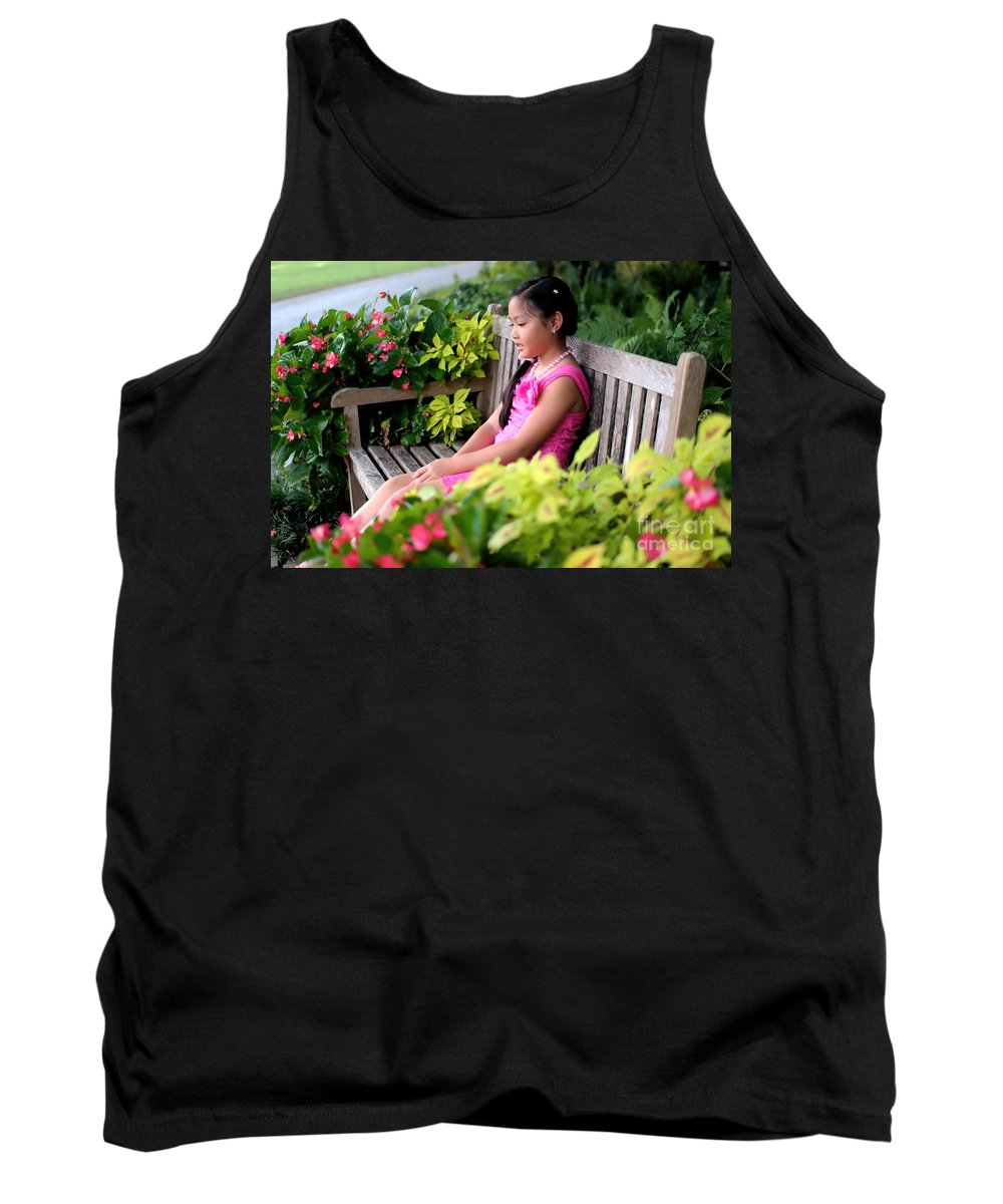 Children Tank Top featuring the photograph Lana by Diana Mary Sharpton