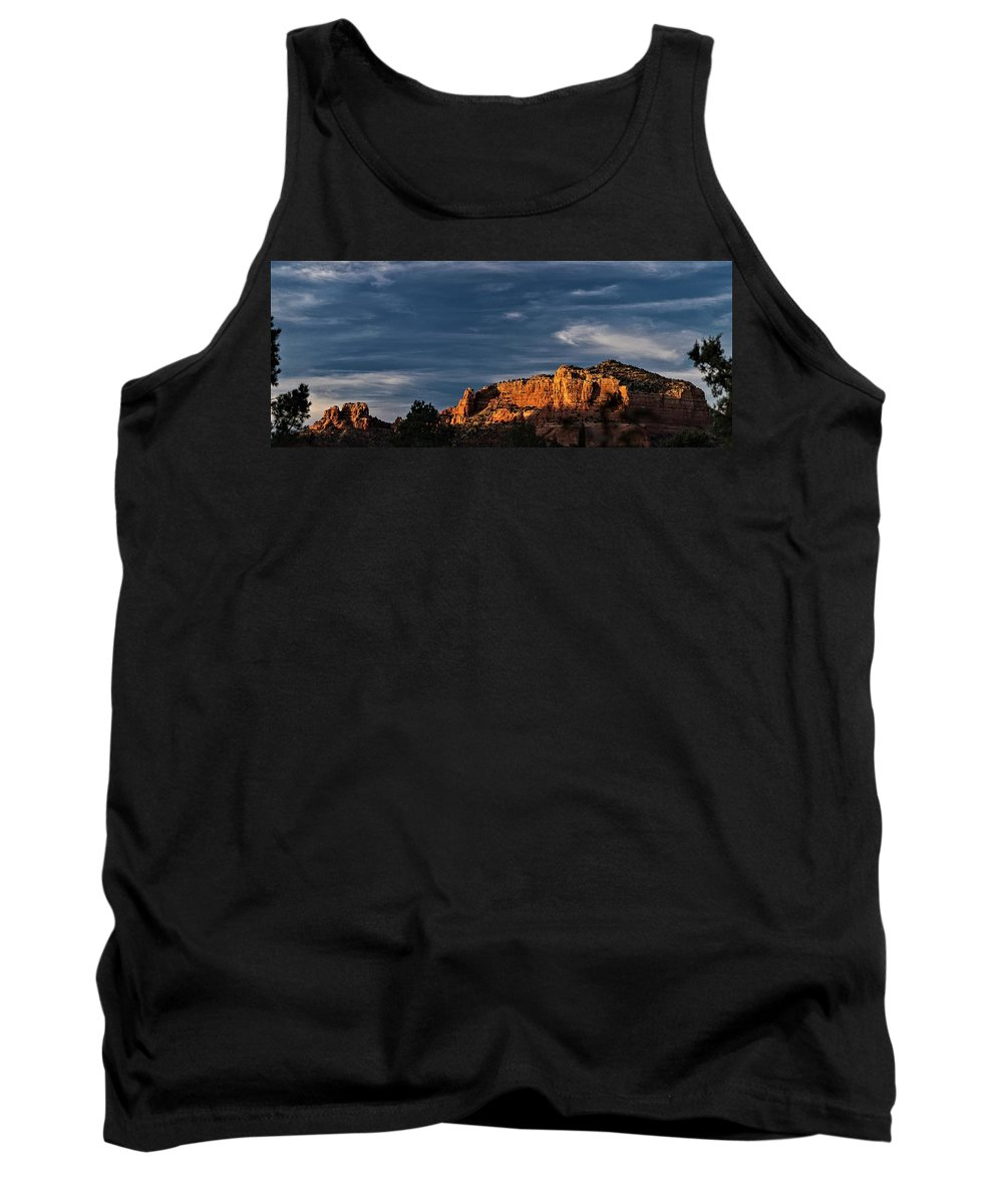 Sedona Az Red Rock Tank Top featuring the photograph Sedona Az by George Fredericks