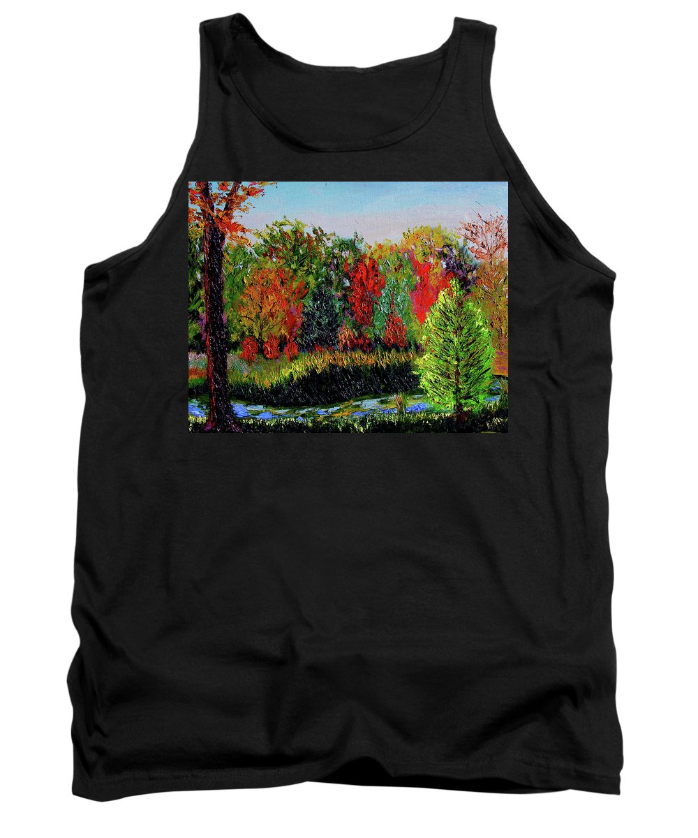 Plein Air Tank Top featuring the painting Sewp 10 10 by Stan Hamilton