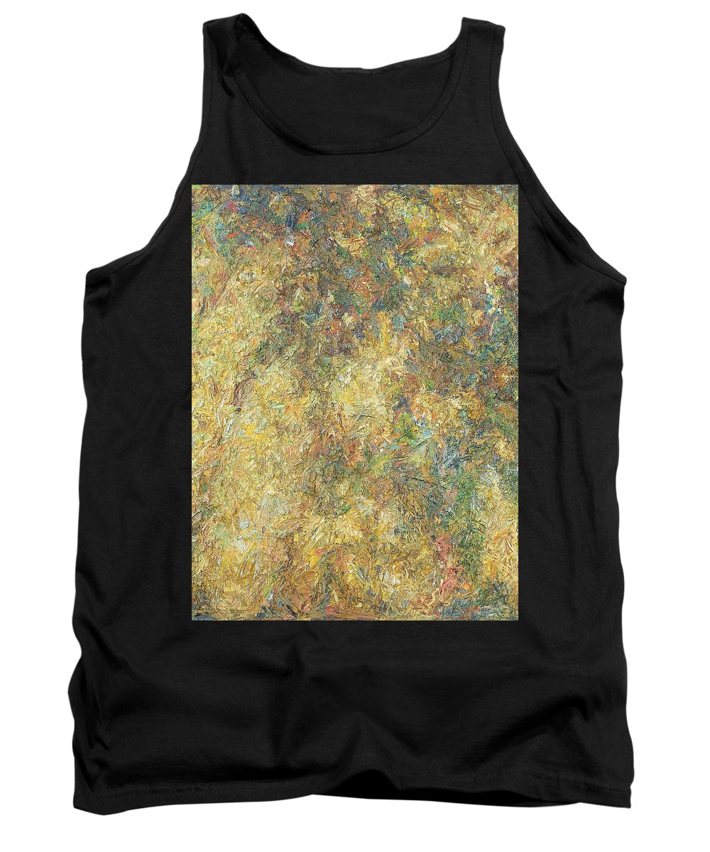 Shade Tank Top featuring the painting Autumn by Robert Nizamov