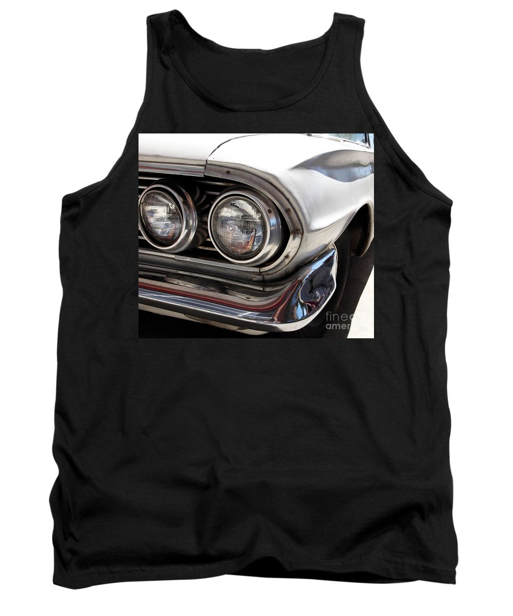 Cars Tank Top featuring the photograph Biscayne by Amanda Barcon