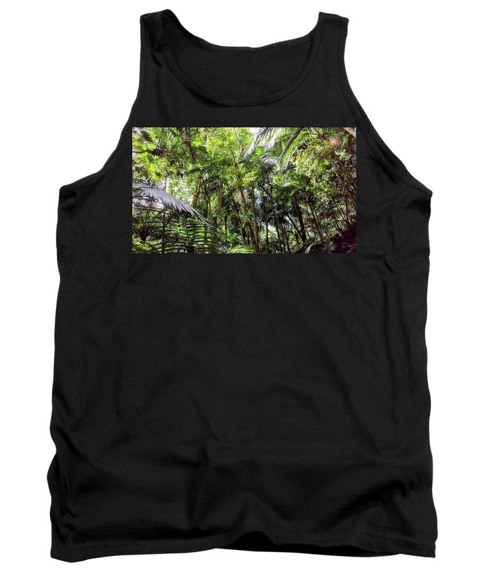 Puerto Rico Tank Top featuring the photograph The El Yunque National Forest, Puerto Rico by Nicole Badger