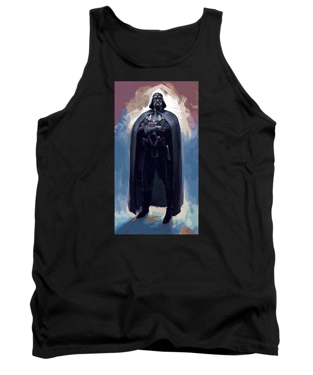 Sith Star Wars Tank Top featuring the digital art Star Wars Episode 6 Poster by Larry Jones
