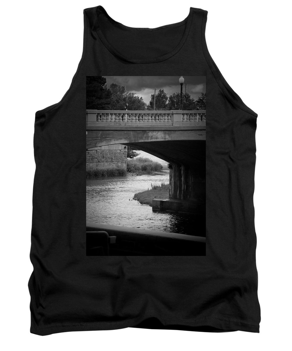 Sioux Falls Tank Top featuring the photograph 8th And Sioux River by Mike Oistad