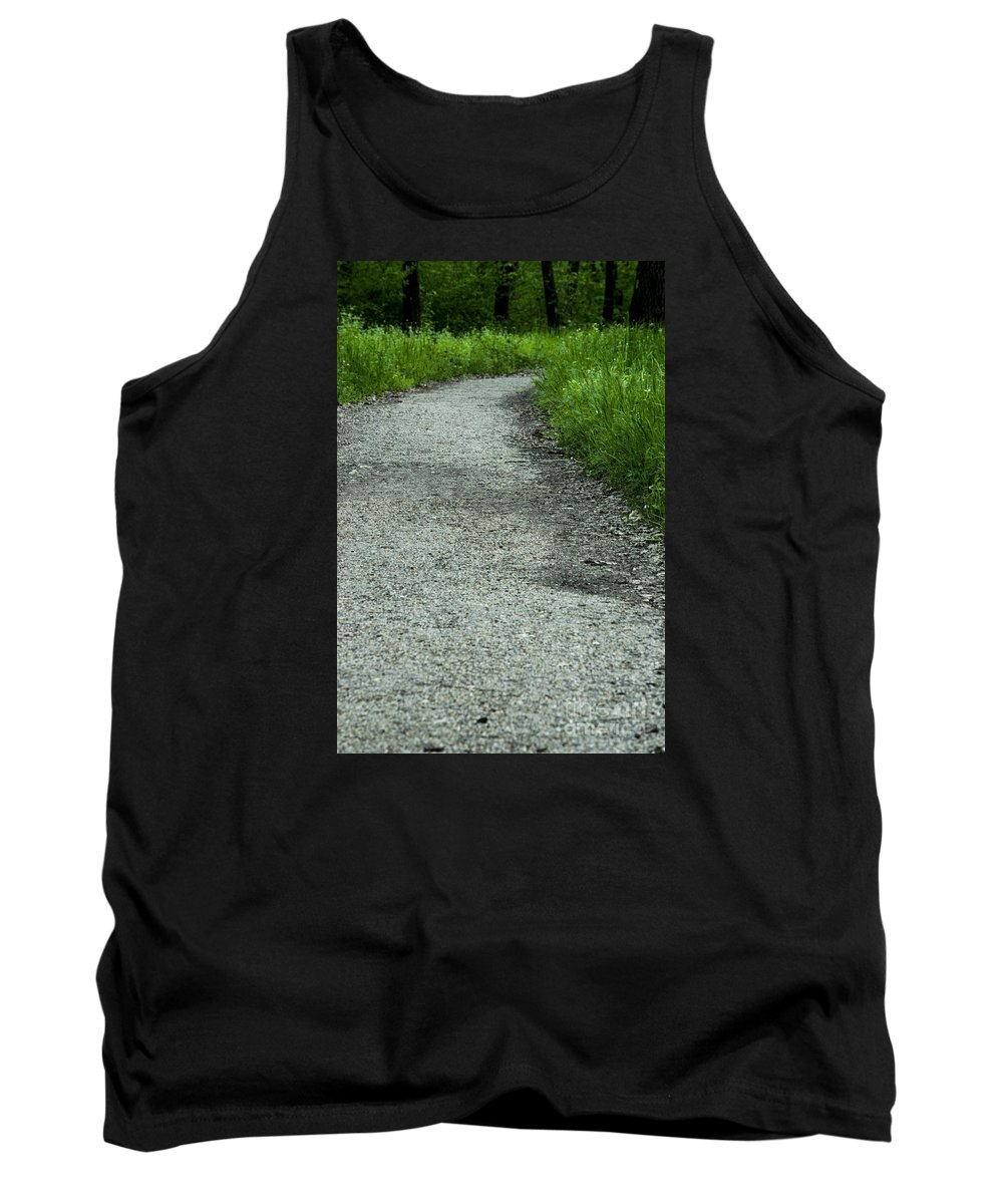 Little Tank Top featuring the photograph A Little Trail by Sonya Staneva