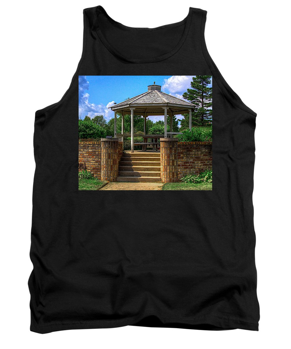 Jesus Tank Top featuring the photograph A Place To Pray-2 by Robert Pearson