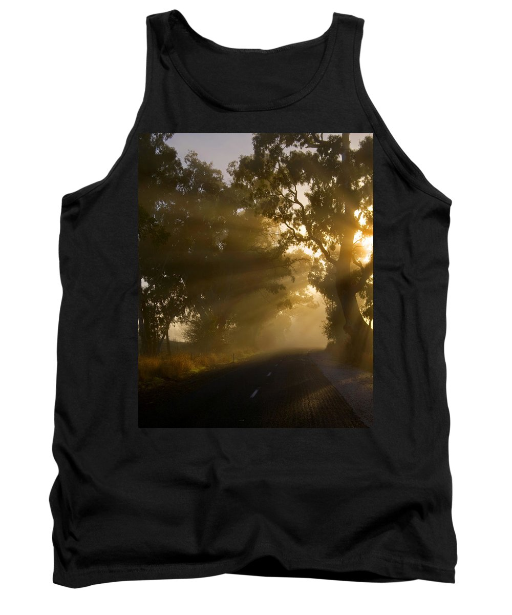 Highway Tank Top featuring the photograph A Road Less Traveled by Mike Dawson