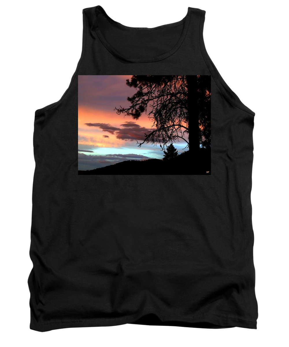 Sunset Tank Top featuring the photograph A Sky To Behold by Will Borden