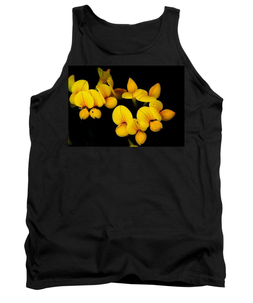 Digital Photography Tank Top featuring the photograph A Study In Yellow by David Lane