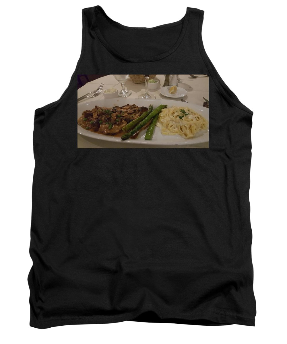 Dining Tank Top featuring the photograph A Taste Of Italy by Gail Oleaga