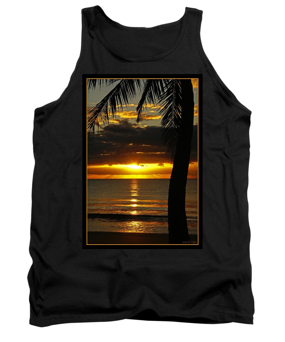 Landscape Tank Top featuring the photograph A Touch Of Paradise by Holly Kempe