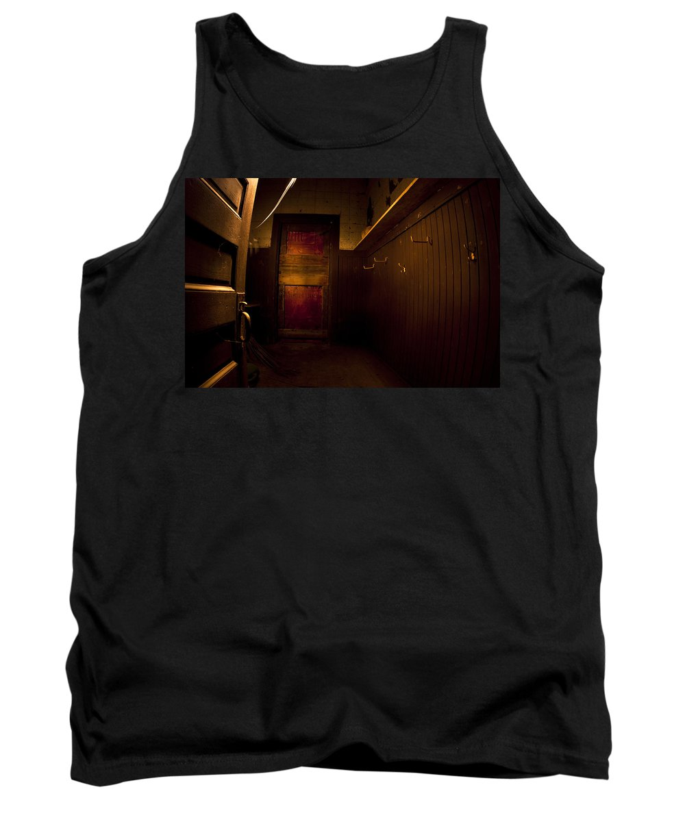 Abandoned Tank Top featuring the photograph Abandoned Schoolhouse by Cale Best