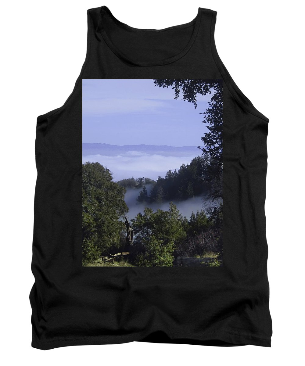 Lalndscape Tank Top featuring the photograph Above The Clouds by Karen W Meyer