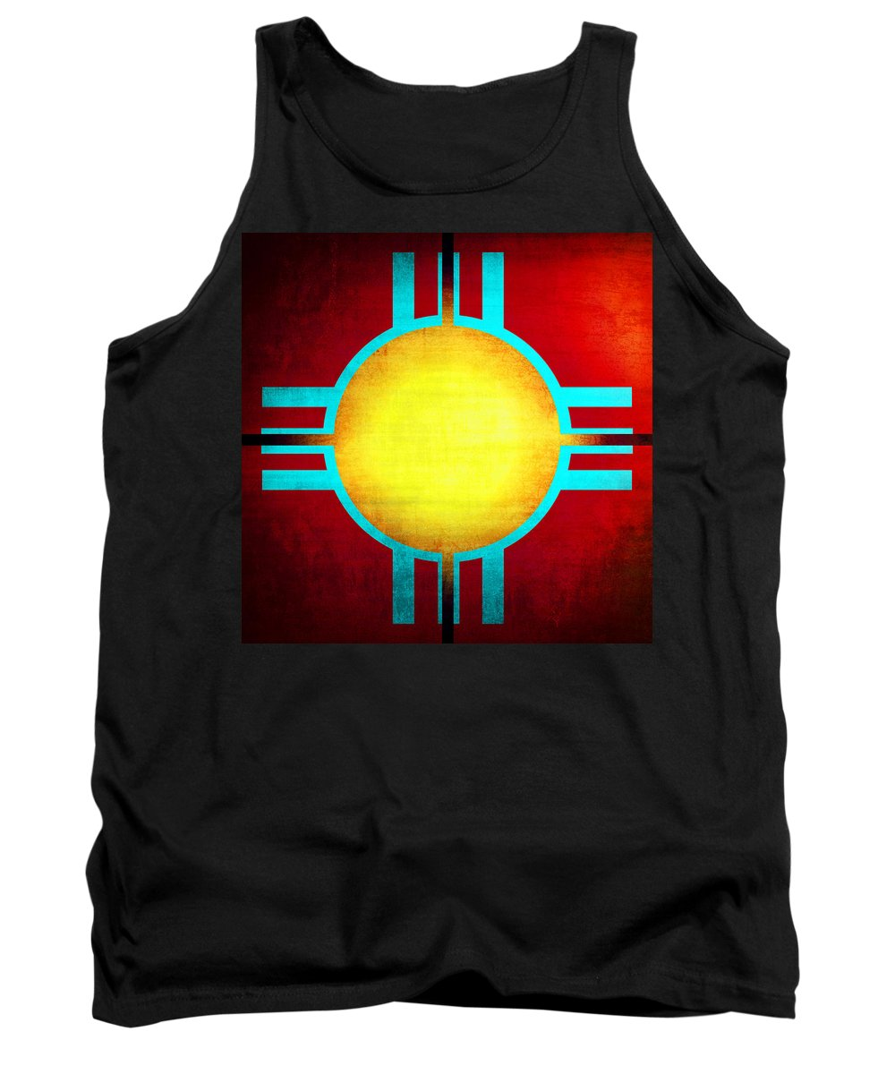 Abstract Tank Top featuring the photograph Abstract 98 by Timothy Bulone