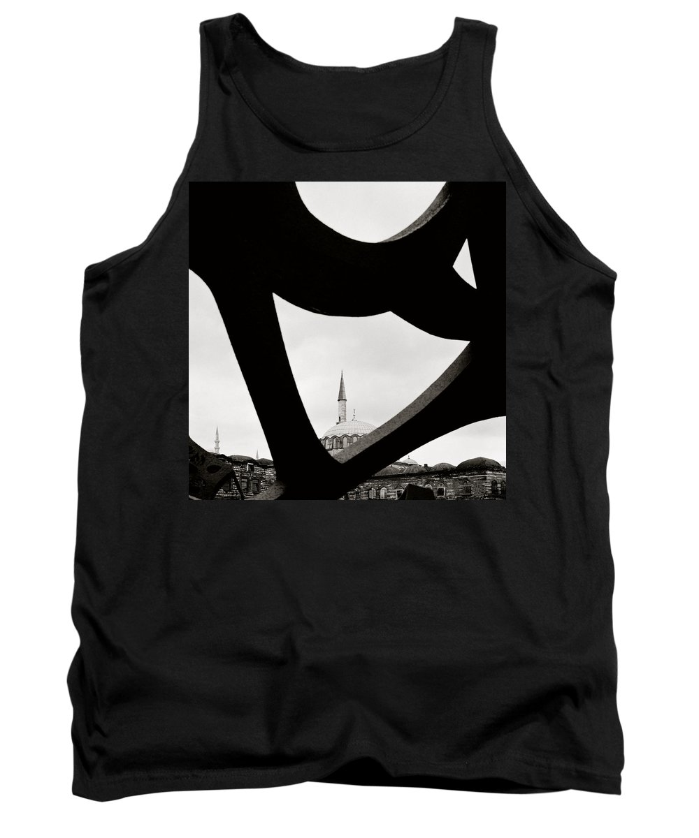 Art Tank Top featuring the photograph Abstract Art by Shaun Higson