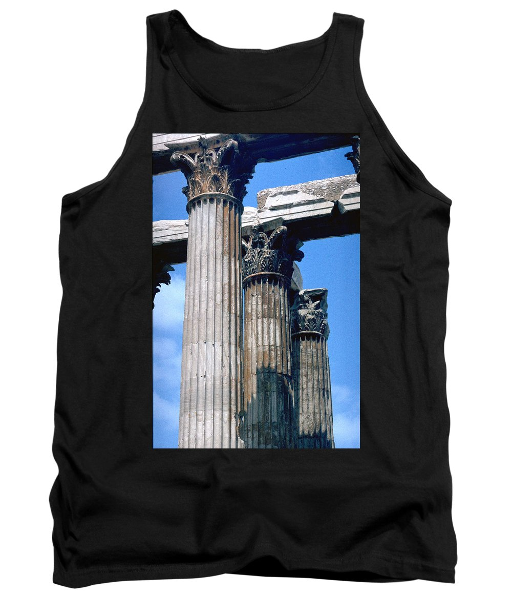 Acropolis Tank Top featuring the photograph Acropolis by Flavia Westerwelle