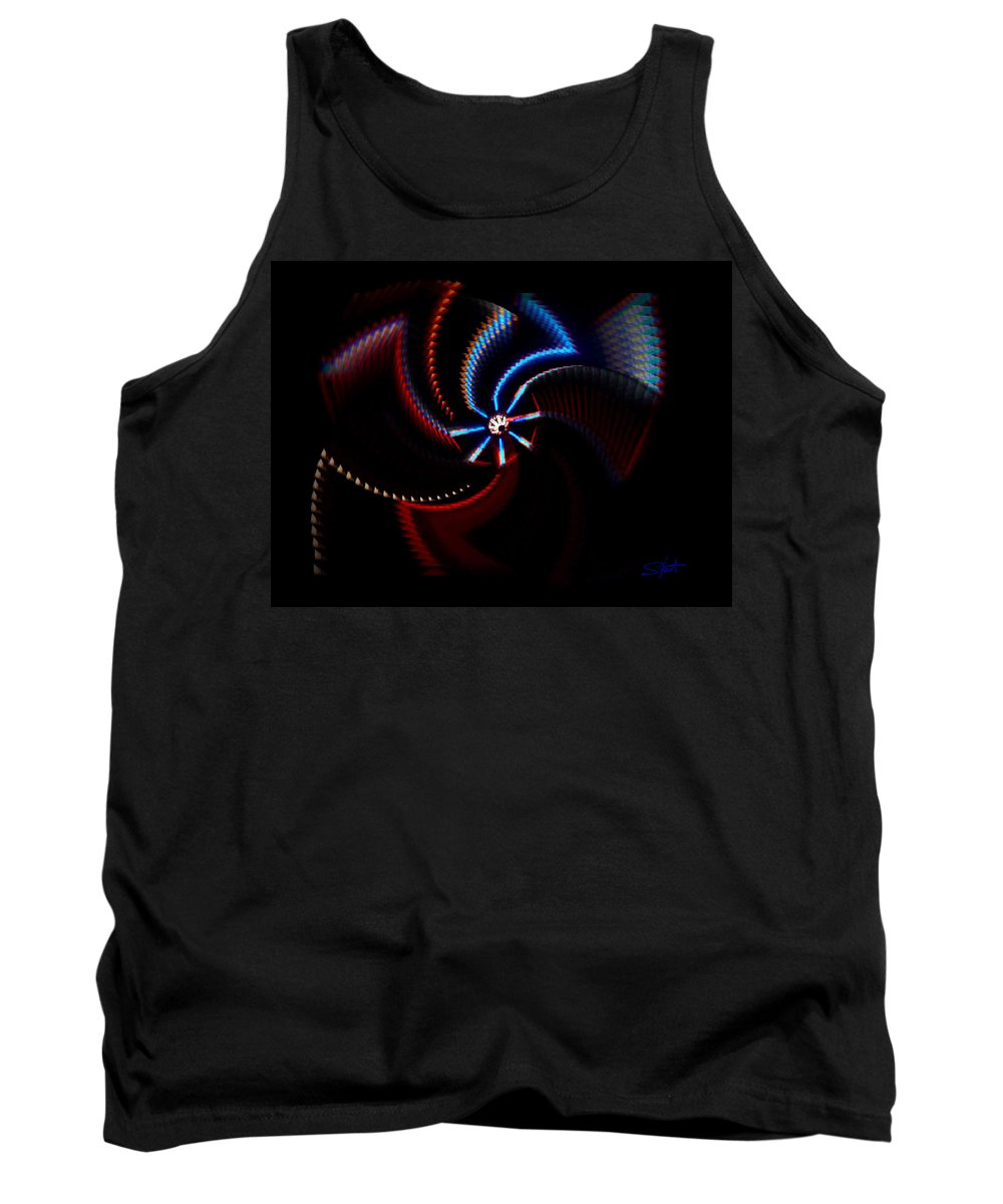 Chaos Tank Top featuring the photograph After Shock by Charles Stuart