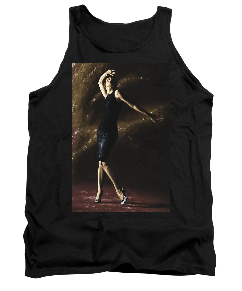 Dance Tank Top featuring the painting After The Dance by Richard Young