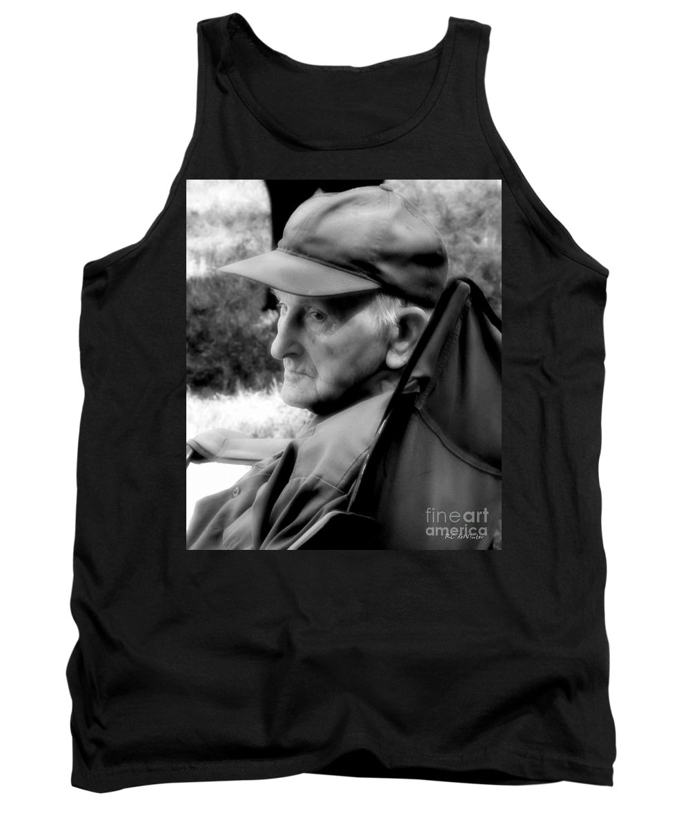 Farmer Tank Top featuring the photograph After The Pull by RC DeWinter