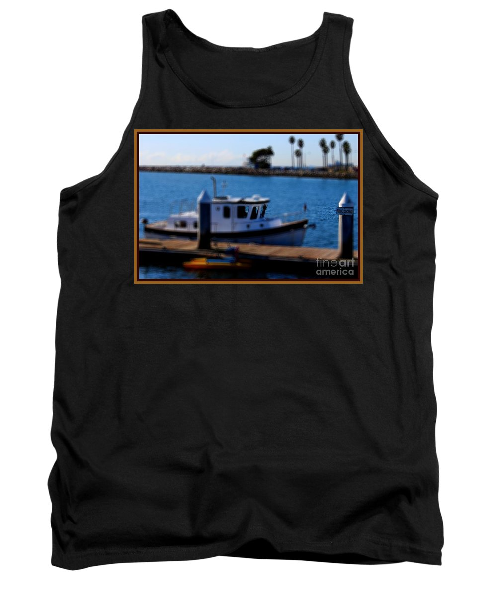 Mast Tank Top featuring the photograph Alamitos Bay Long Beach by RJ Aguilar