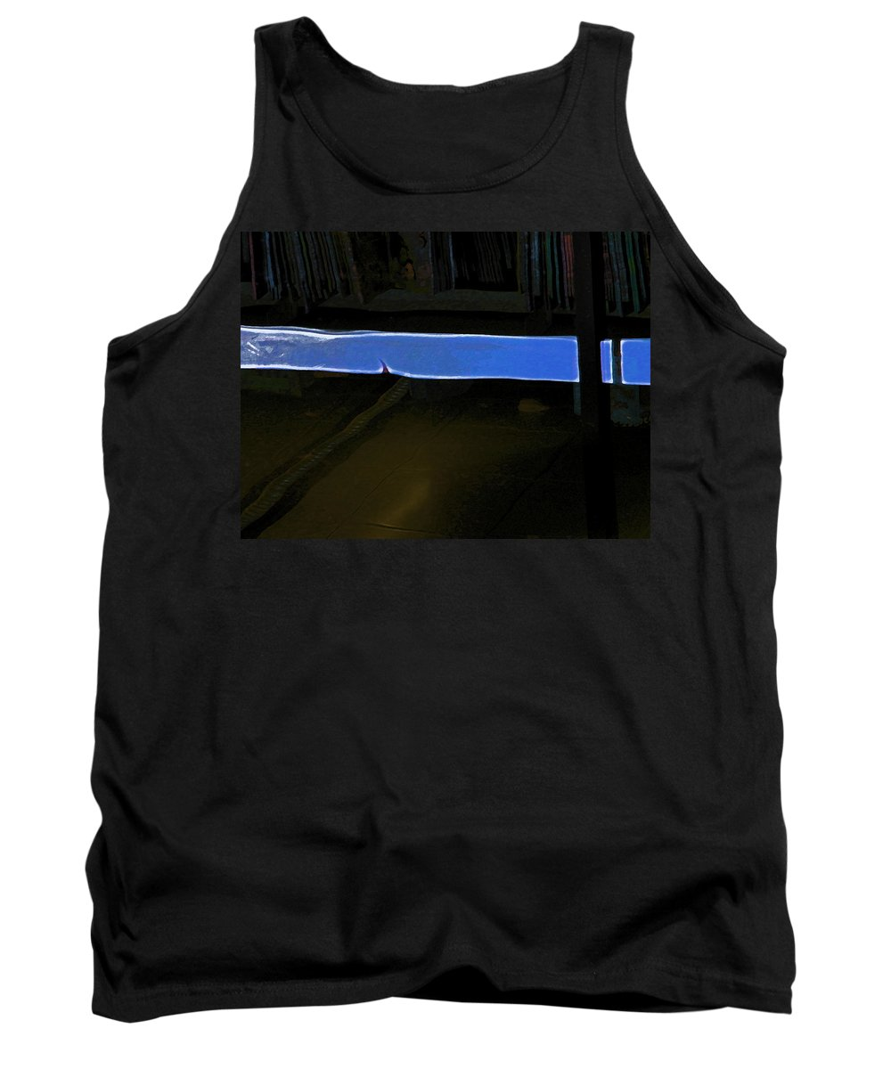 Abstract Tank Top featuring the photograph Alternate Reality 15 by Lenore Senior